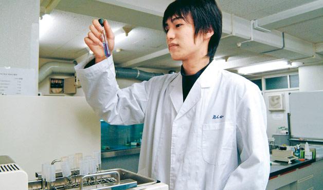 DNA抽出実験希少野生生物の繁殖